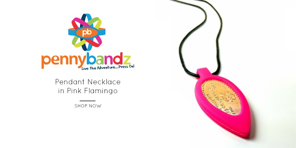 Pennybandz pressed pennies elongated coins necklace